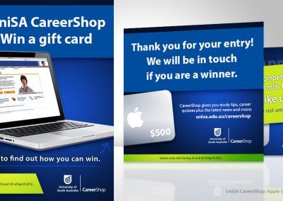 UniSA Apple Gift Card Sweepstake